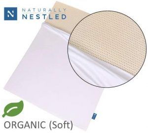 Certified Organic 100% Natural Latex Mattress Topper - Soft - 2 Inch - Queen Size - Organic Cover Included