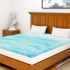 Mattress Topper King, Gel Memory Foam