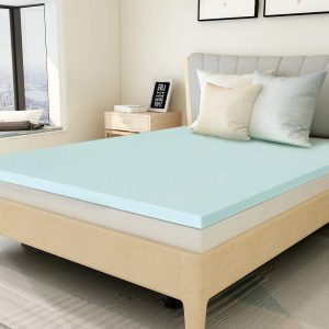 POLAR SLEEP Gel Memory Foam Mattress Topper