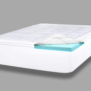 ViscoSoft 4inches Serene Dual Layer Bed Topper